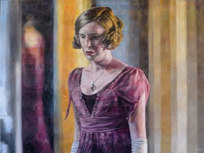 LADY EDITH - 36X48 - OIL ON CANVAS - 2017