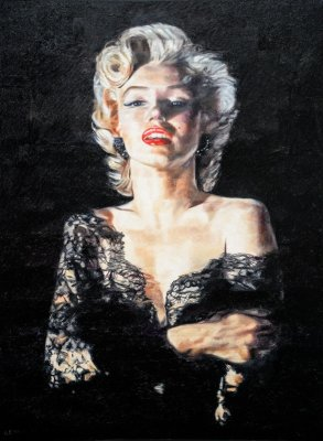 MARILYN - 48X36 - OIL ON CANVAS - 2017