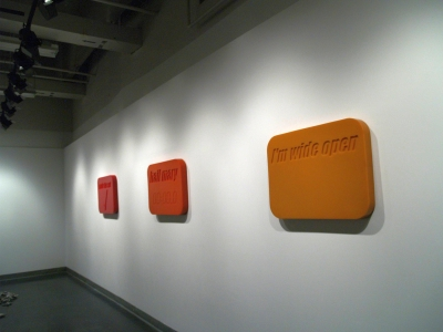 TABLETS (INSTALLATION VIEW)