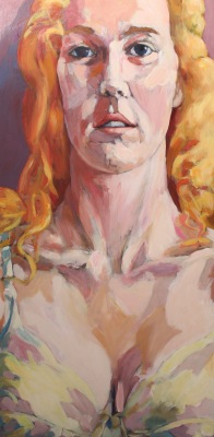 TIFFANY - ACRYLIC ON PANEL - 48X24