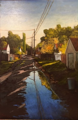 EARLY AUTUMN AFTERNOON - 36X24 - OIL ON CANVAS - 2019