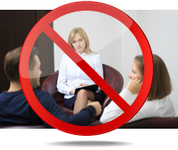 Stop going to marriage counseling... it doesn't work!