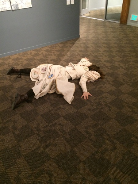 Performance at San Jose Museum of Quilts and Textiles