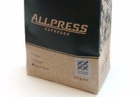 packaging, allpress packaging, coffee bag, square base bag, quad seal
