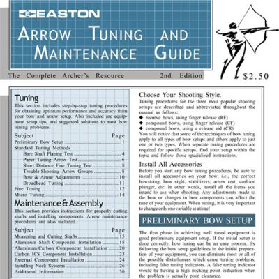Easton Tuning Guide