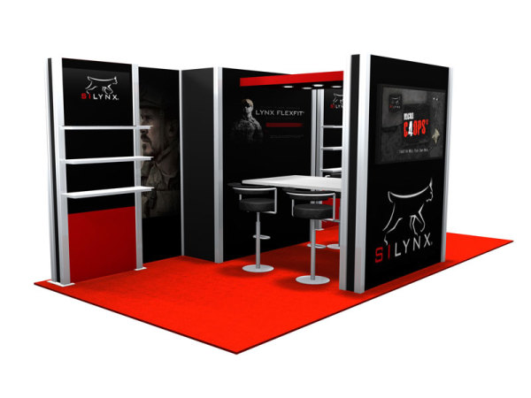 10 x 20 Booths