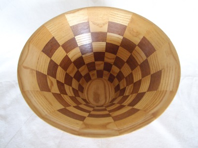 Checkerboard Bowl