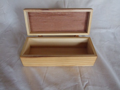 Oak Rectangular Box