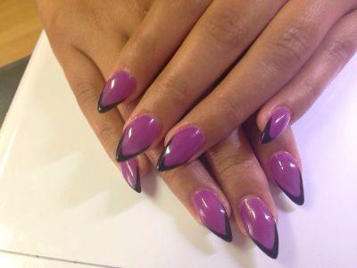 stiletto nail tips