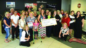 Waco Women's Lions Club 'Fill a Fiat' food drive