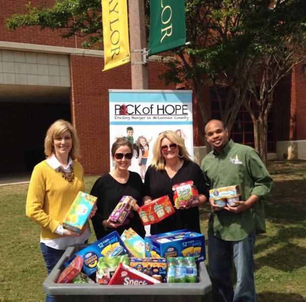 Baylor Staff Council Food Drive