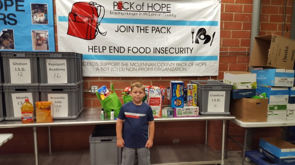Hallsburg Student Collects POH Donations