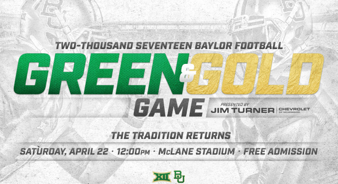 Baylor's Green and Gold Game