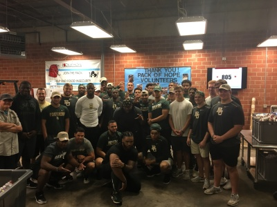 Baylor Athletic Department Partners with the Pack