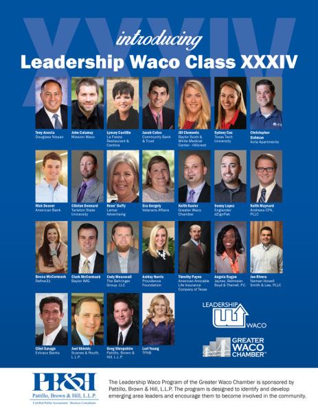 2017 Leadership Waco Class