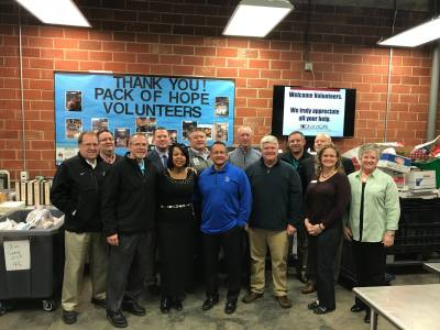 Area Superintendents Volunteer for the Pack