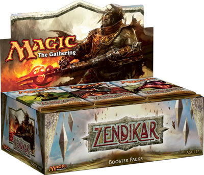Magic the Gathering Zendikar Sealed Booster Box
