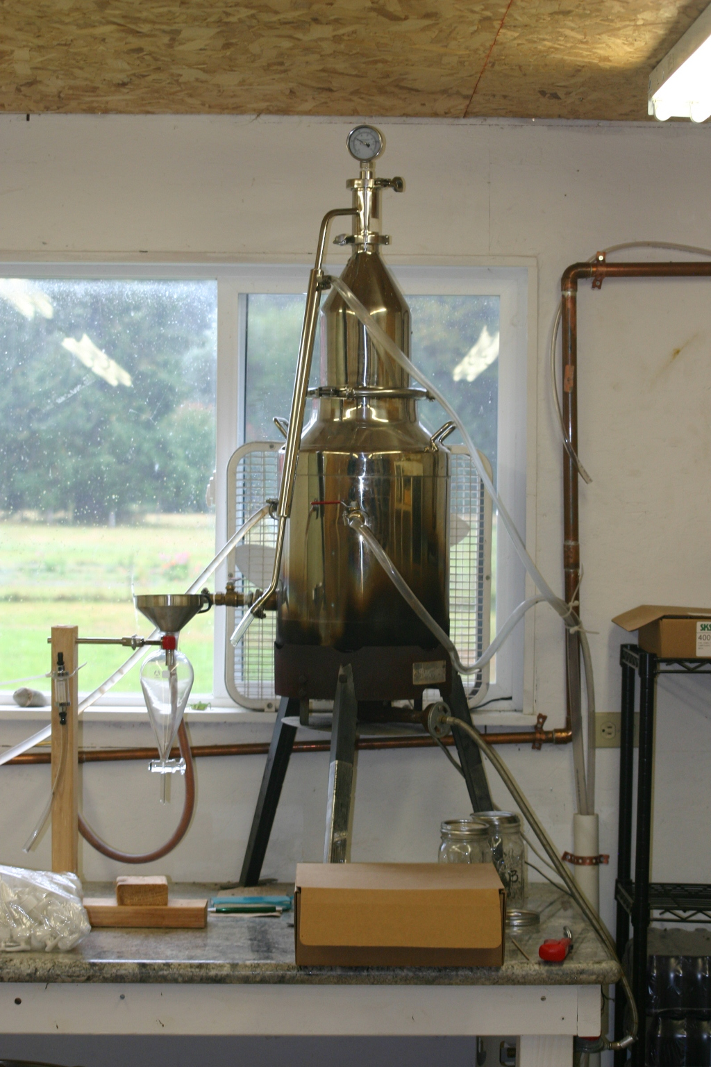 The magic distilling machine!