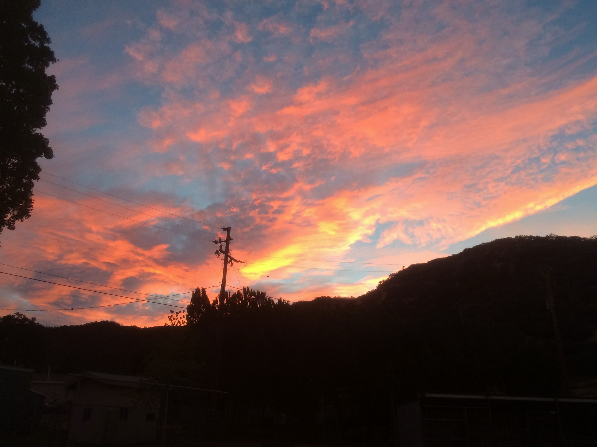 Sunset in Lebec