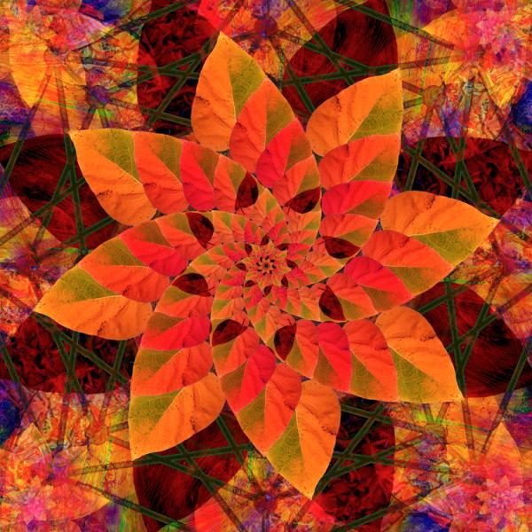 Fall Pinwheel