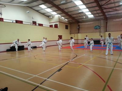 May 2015 Camp - Kicking Practice
