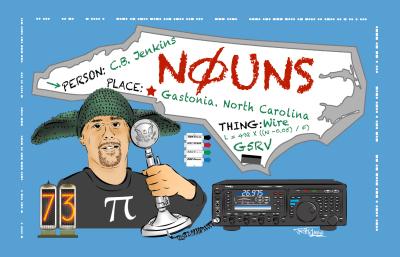 N0UNS QSL Card