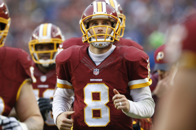 Kirk Cousins , Quarterback of the Washington Redskins
