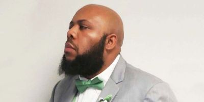 Steve Stephens in suit.