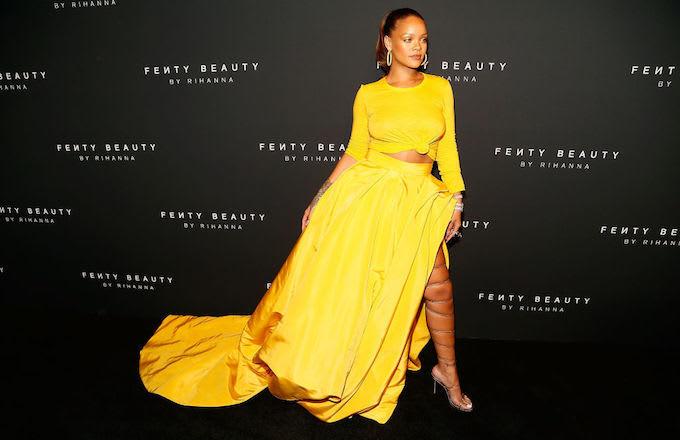 Rihanna At Fenty Launch