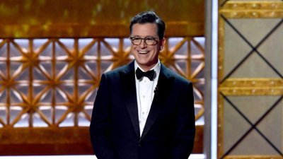 Colbert at Emmys. ABC .