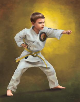 Paker the Karate Kid