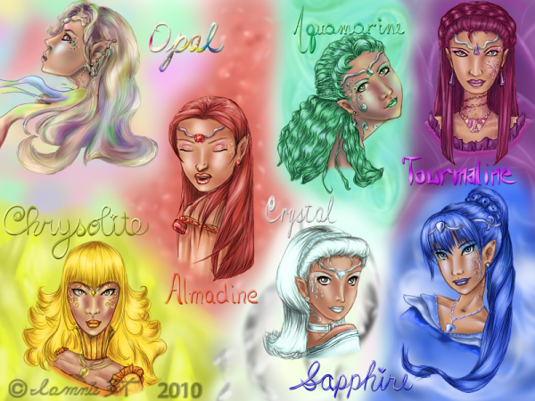 Seven Sister Princesses