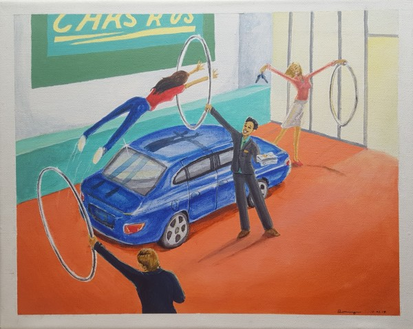 Cars and Hoops