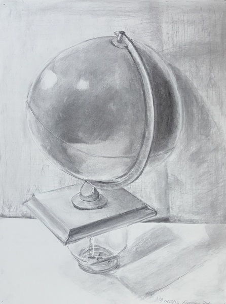 Globe on a Cross