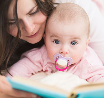 Reading to an Infant