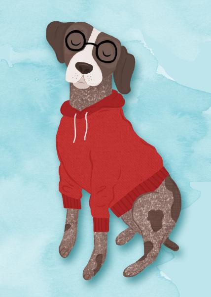 Illustrated Dog