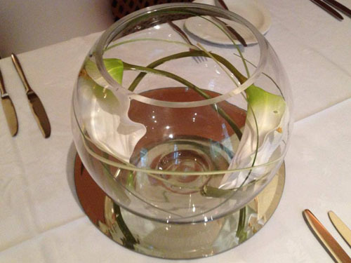 25cm Fish Bowl Vase