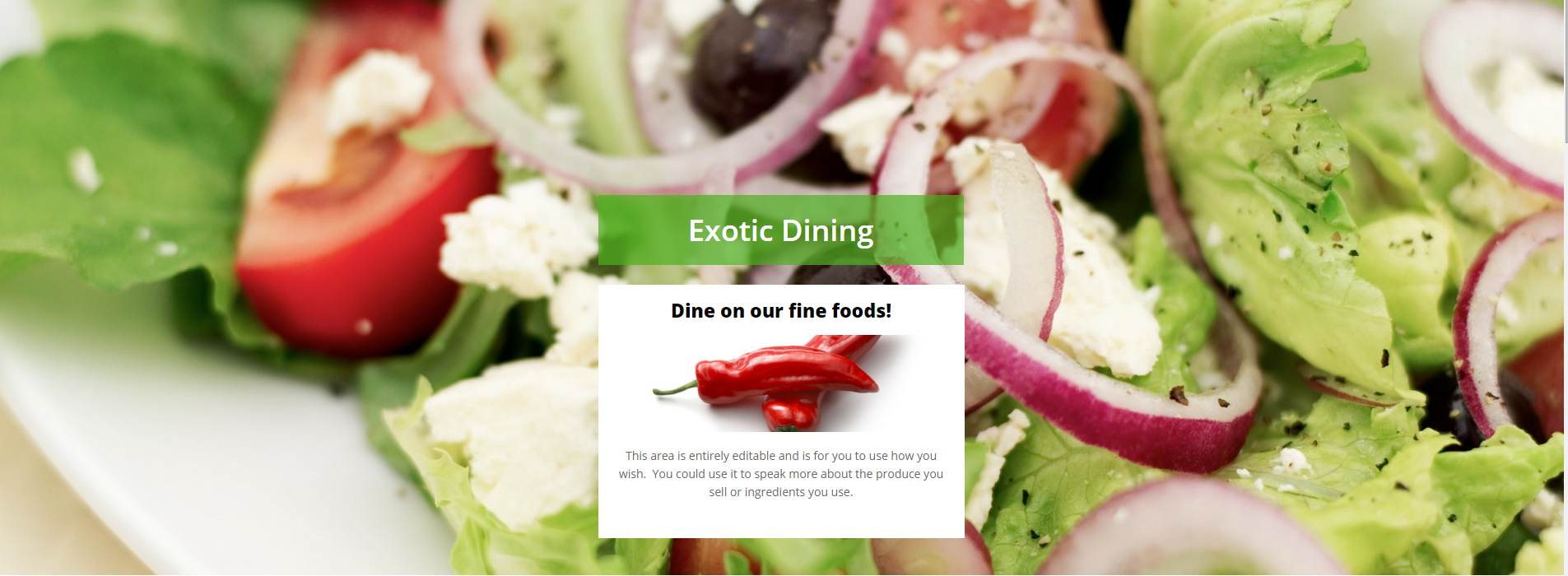 Excotic-Dining-Template