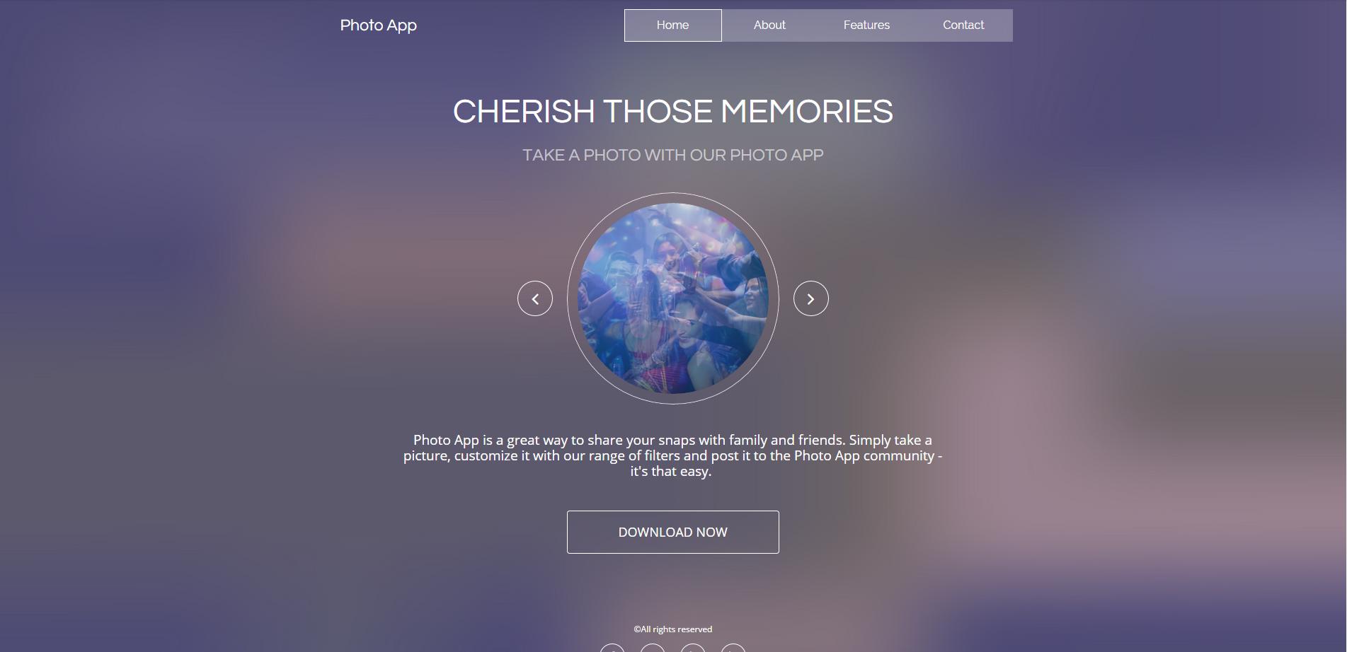 Photo-App-template