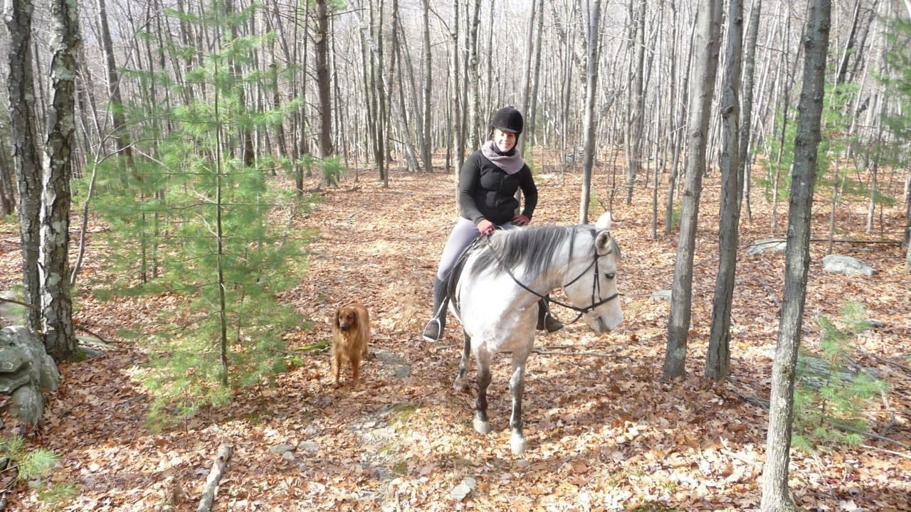 Nikki's First Trail Ride