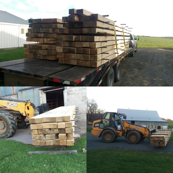 The new beams arrive!