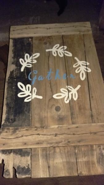 Old hay door!
