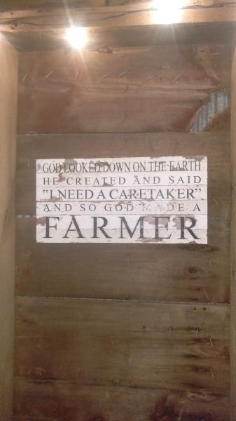 Love my farmer!