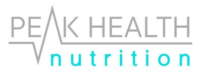 Peak Health Nutrition, Dietitian Brisbane