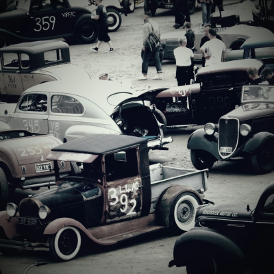 Photo's courtesy of a guest attending the Hot Rods Races at Pendine