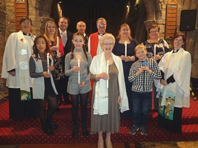 Confirmation Service at St Helen's