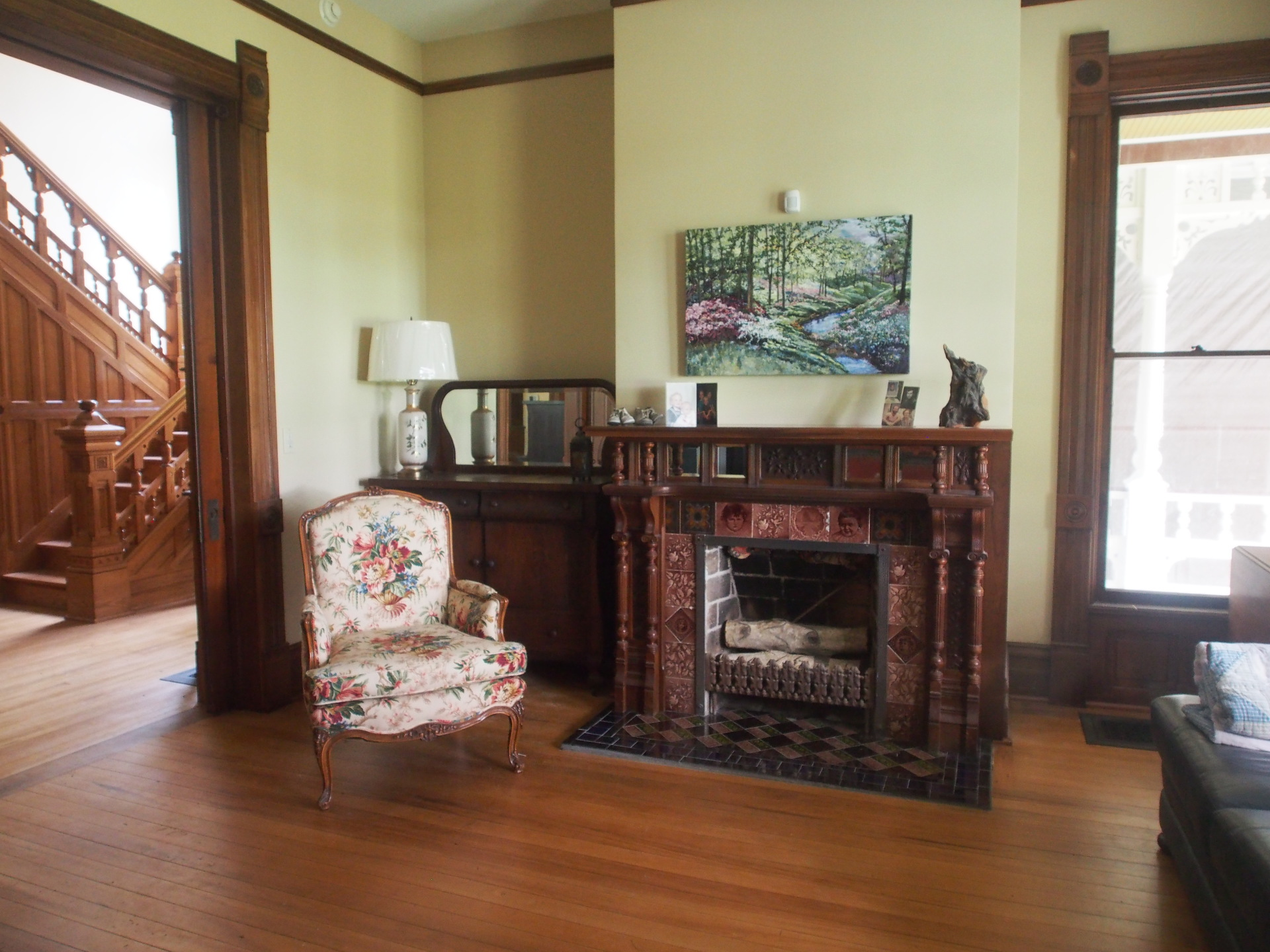 First parlor
