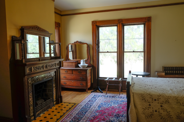 One of the second-floor bedroom at Ancestral Acres Lodge