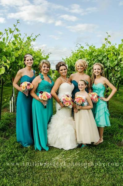 Bridesmaids dresses sullivan full service bridal store for Wedding dress shops st louis mo