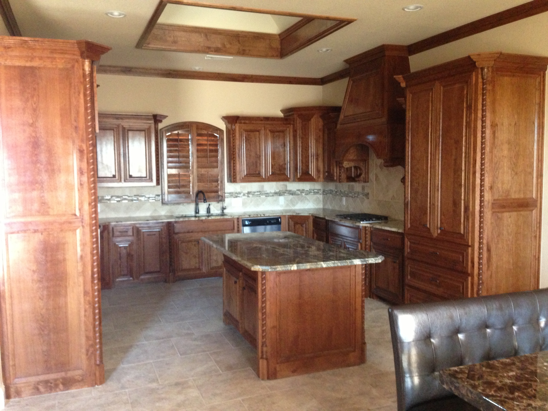 Custom Cabinets and Granite Remodel